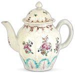 porcelain teapot - liverpool