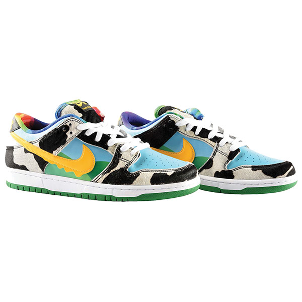 Nike SB Dunk Low Ben & Jerry's Chunky Dunky sneakers, 2020, collaboration with ice cream makers Ben & Jerry's
