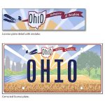 ohio license plate mistake and correction 2021